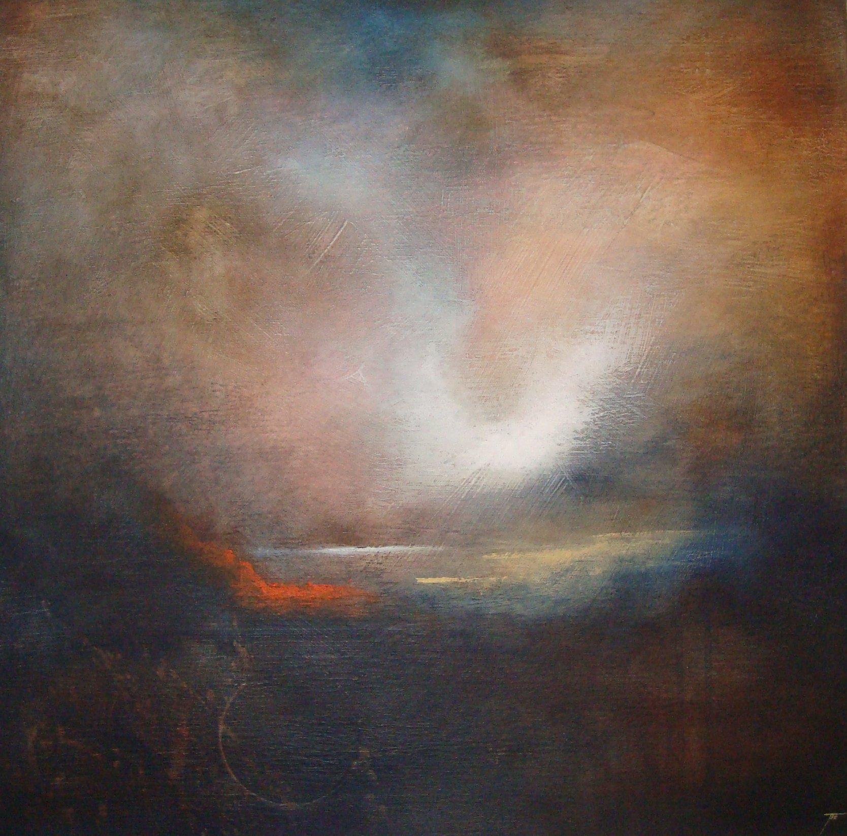 Landscape, 60x60 cm